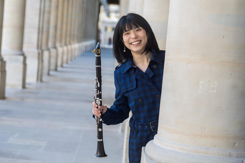 クラリネット奏者Yukiha