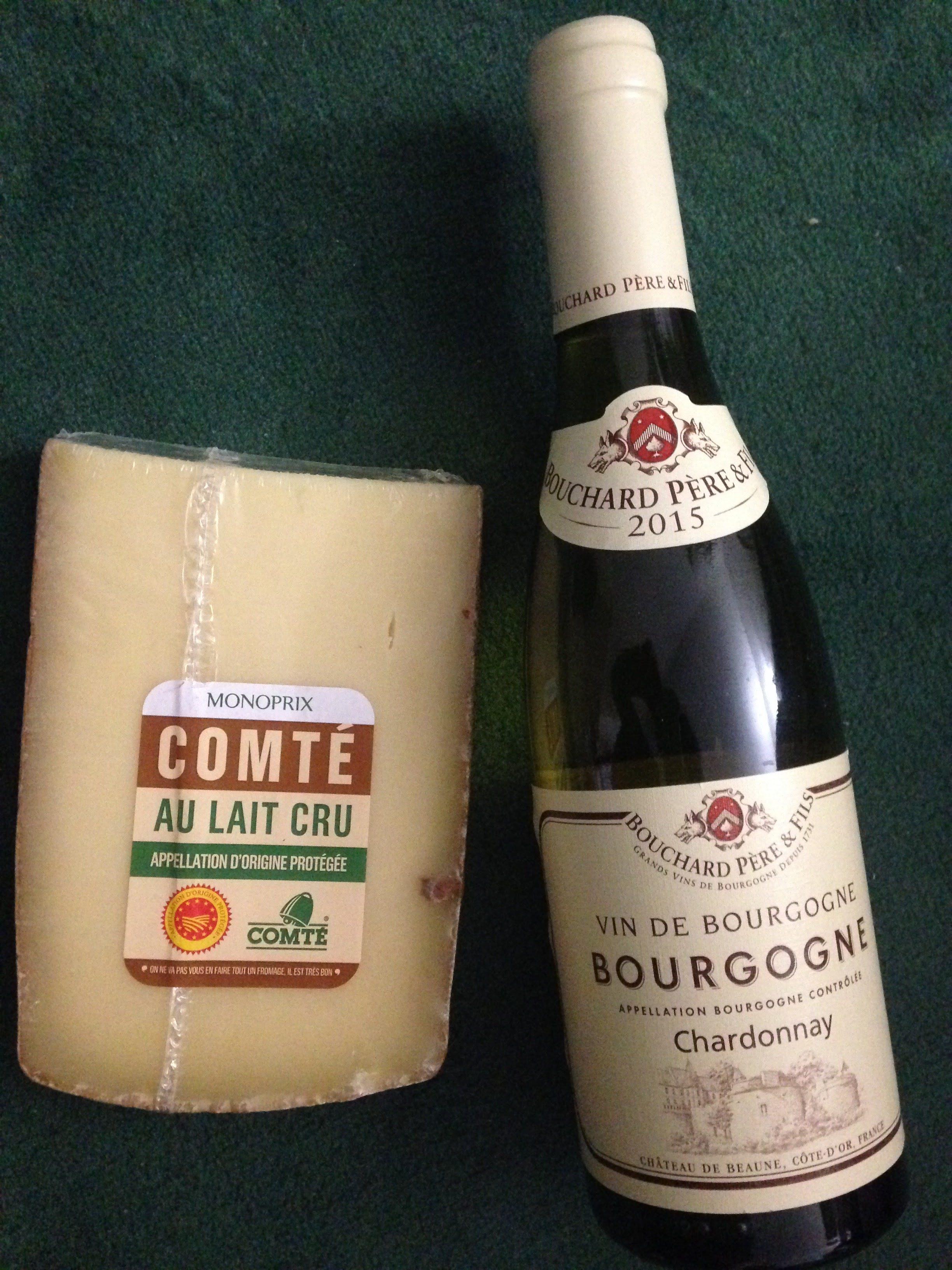 ワインとコンテ