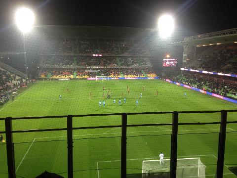 メッスVSマルセイユ試合