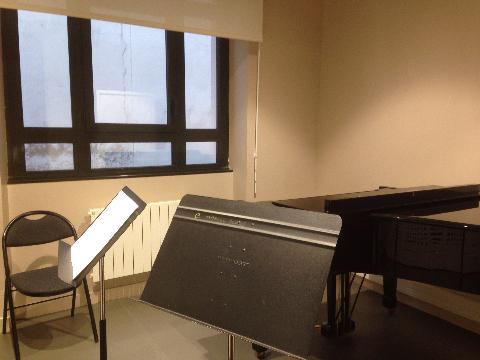 ムードン音楽院 練習室