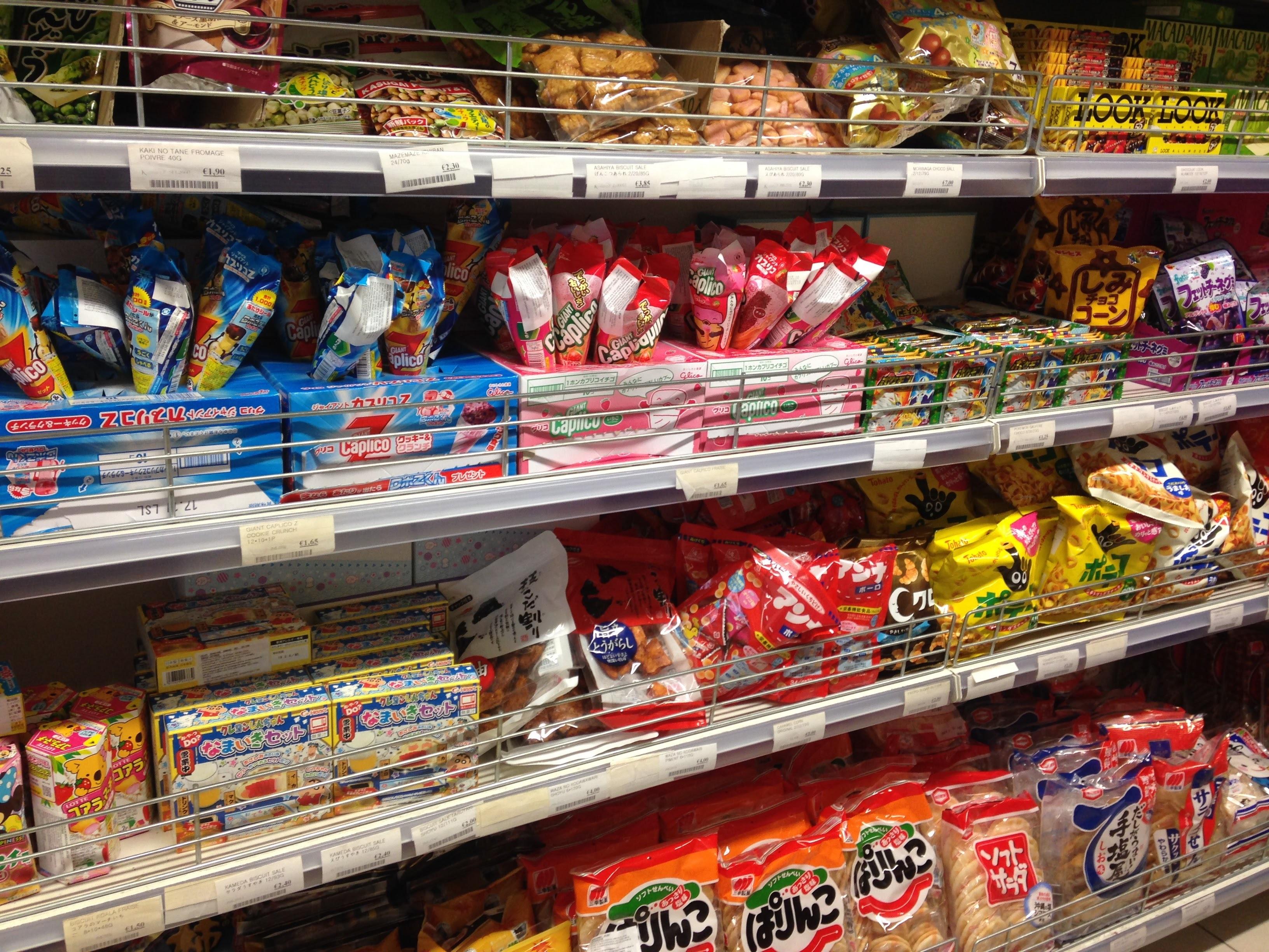 Kmartお菓子売り場