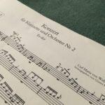 ムードン音楽院レッスン日記~ウェーバー作曲の『クラリネット協奏曲第2番』