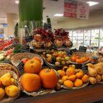 ハロウィンシーズンのかぼちゃ売り場は、、