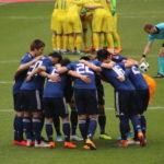 こんなに間近で観れるなんて!サッカー日本VSウクライナ戦