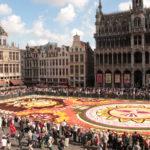 2018年、ベルギーのフラワーカーペットを見てきました!