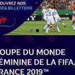 2019年はフランス!女子サッカーW杯のチケット発売