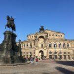ドレスデンの中心で音楽家ゆかりの地を巡る