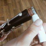 クラリネットのコルクグリスの塗り方をマスターしよう!
